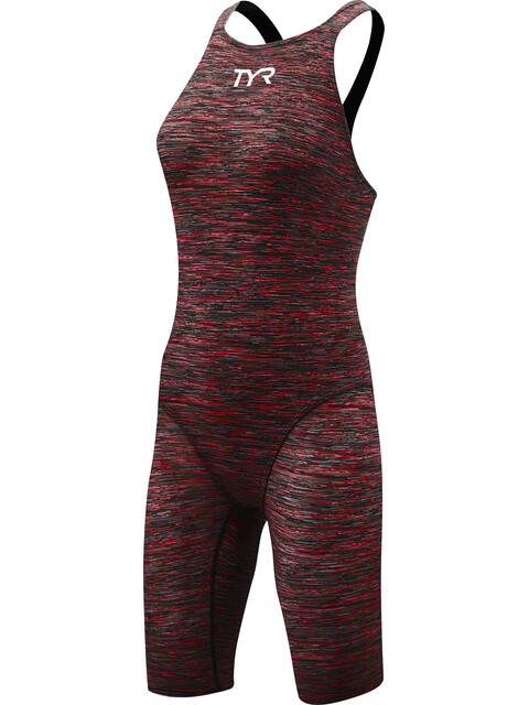 TYR Thresher Baja Open Back Swimsuit Women Red